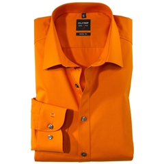 Olymp Level Five Body Fit Shirt - Mango - 6090 64 84
