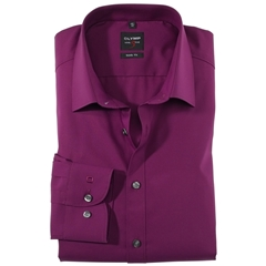 Olymp Level Five Body Fit Shirt - Cherry Red - 6090 64 79