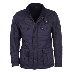 Autumn 2017 Barbour International Ariel Polarquilt Jacket - Navy - XL Only