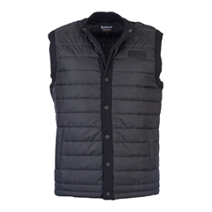 Autumn 2017 Barbour International Baffle Quilted Gilet - Black