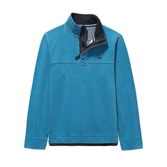 Autumn 2017 Mens Crew Clothing Padstow Pique Sweat - Dusk Blue