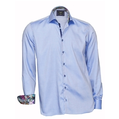 Autumn 2017 Giordano Shirt - Blue - Modern Fit
