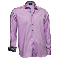 Autumn 2017 Giordano Shirt - Lilac - Modern Fit