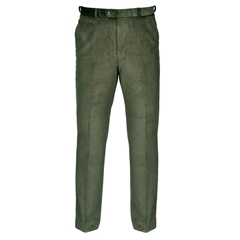 Autumn 2017 Gurteen Verona Cotton Corduroy Trouser - Olive