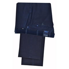 Autumn 2017 Bruhl Cotton  Trouser - Navy- Catania B 182089 690