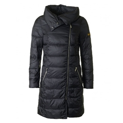Autumn 2017 Women's Barbour International Mallory Quilted Jacket - Black