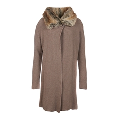 Autumn 2017 Women's Barbour Fortrose Knit - Taupe