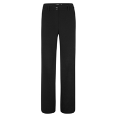 Olsen Trousers Loose Fit Anna - Black