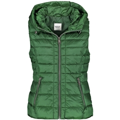 Taifun Quilted Body Warmer - Pine Green