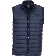 Autumn 2017 Barbour International Baffle Quilted Gilet - Navy