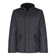 Barbour Mens Barbour Powell Quilted Jacket - Black