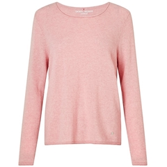 Long Sleeve Cashmere jumper - Blush