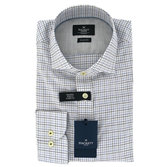 New For Autumn Hackett Kent Shirt Navy/Blue