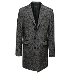 Digel Herringbone Overcoat