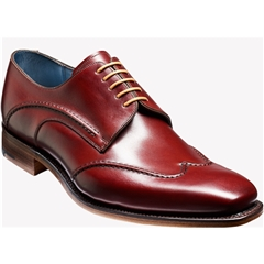 Barker Shoes Style: Brooke - Cherry Calf/Brown Welt