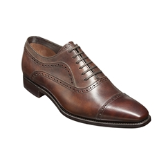 New 2018 Barker Shoes Style: Schubert - Brown Shadow Calf