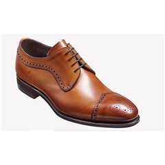 New 2018 Barker Shoes Style: Larne - Antique Rosewood Calf