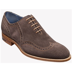 New 2018 Barker Shoes Style: Lazarus - Bitter Choc Suede