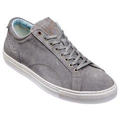 New 2018 Barker Shoes Style: Axel - Grey Suede