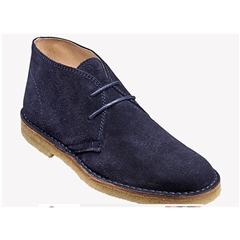 New 2018 Barker Shoes Style: Monty - Navy Suede