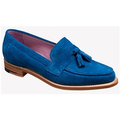 New 2018 Women's Barker Shoes Style: Imogen - Classic Blue Suede