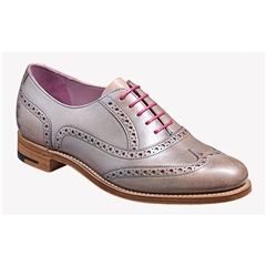 New 2018 Women's Barker Shoes Style: Santina - Lilac/ Silver Hand Painted