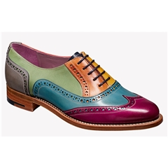 New 2018 Barker Ladies Shoes Style: Fearne - Multi Coloured