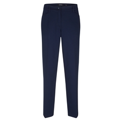 Olsen Lisa Straight Leg Trouser - Dark Pacific