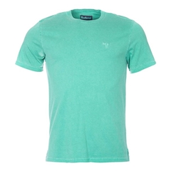New 2018 Barbour Men's Garment Dyed Tee -Turf