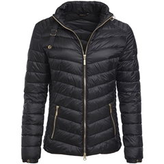 New 2018 Barbour Women's International Triple Quilt - Black