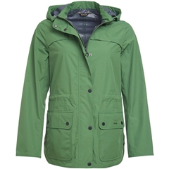 New 2018 Barbour Women's Barometer Waterproof Jacket - Clover