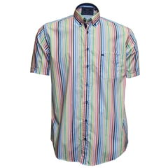 New 2018 Giordano Shirt - Multi Stripe - Regular Fit
