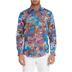 Robert Graham - Kingpin Louie Wovern Shirt - Multi