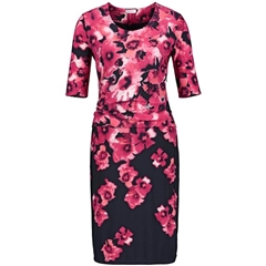 New 2018 Gerry Weber Dress With floral Print- Pink