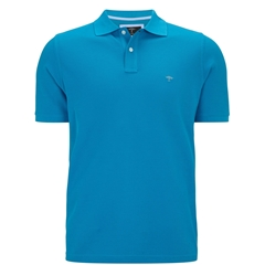 New 2018 Fynch Hatton Polo Shirt- Aqua