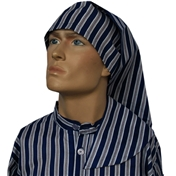 Wee Willie Winkie Hat - Neat Navy Stripe