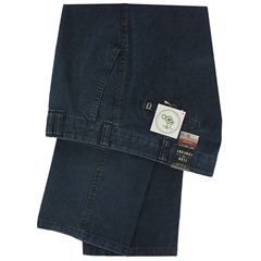 Club Of Comfort Denim Trouser - Dark Blue Denim