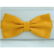 Ready Tied Bow Tie - Mustard Coloured