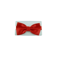 Ready Tied Bow Tie - Scarlet