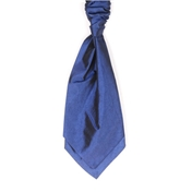 Men's Wedding Cravat- Navy