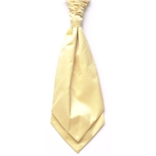 Boy's Satin Wedding Cravat- Yellow