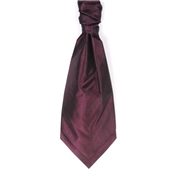 Boy's Wedding Cravat- Purple