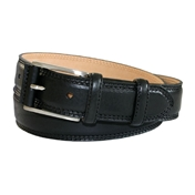 Black Leather Belt by Robert Charles