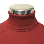 Mens Cotton Roll Neck Sweater - Red (Buy 2 for £55)