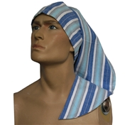 Wee Willie Winkie Hat - Blue Stripe
