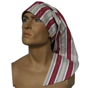 Wee Willie Winkie Hat - Wine Stripe