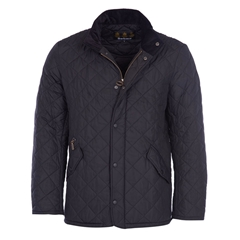 Autumn 2017 Barbour Chelsea Sportsquilt Jacket - Black
