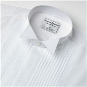Neat Pleat Wing Collar Evening Shirt