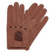 Dents Men's  Deerskin Leather Driving Gloves - Tabacco