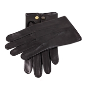 Dents Men's Leather Gloves - Black